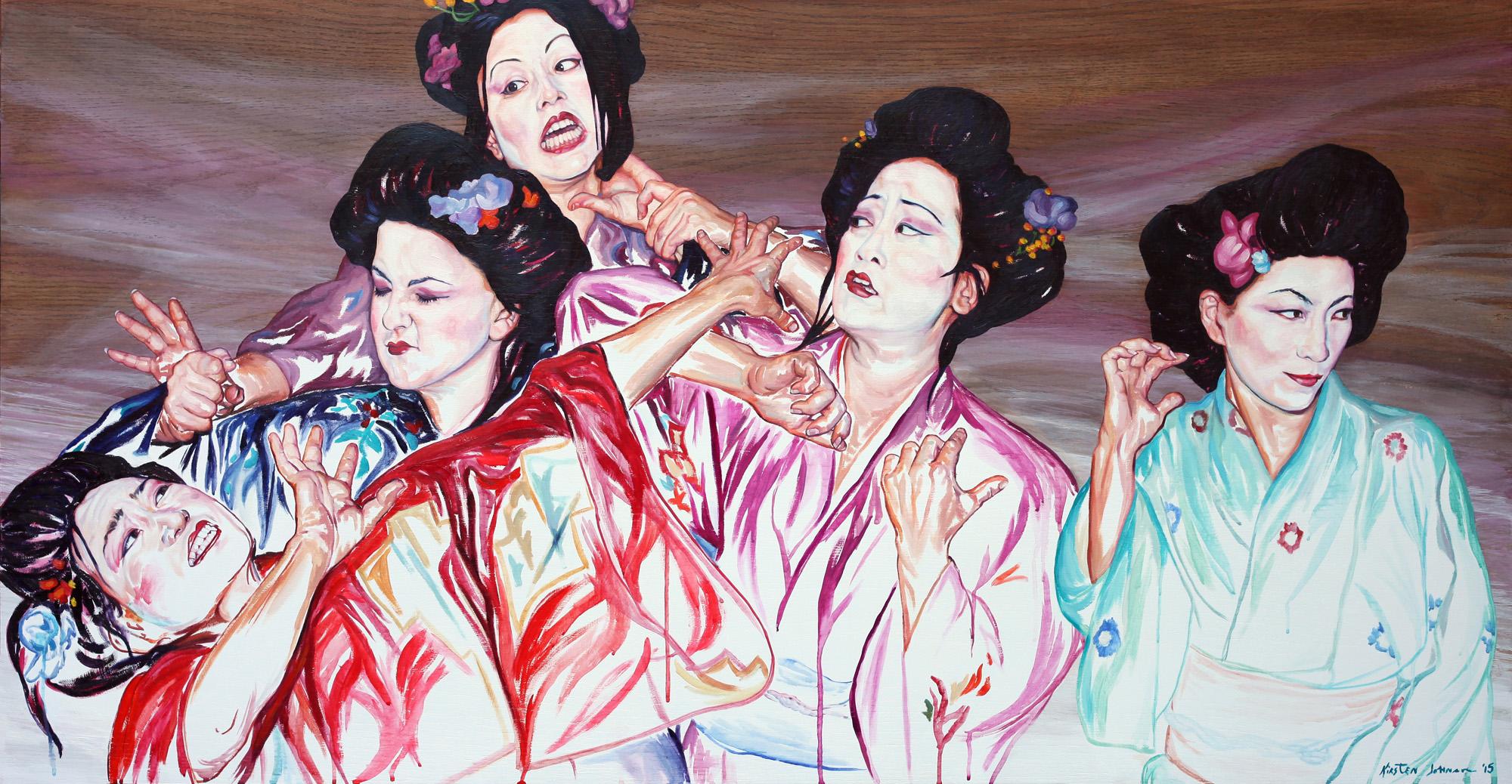 Geisha Fight 7