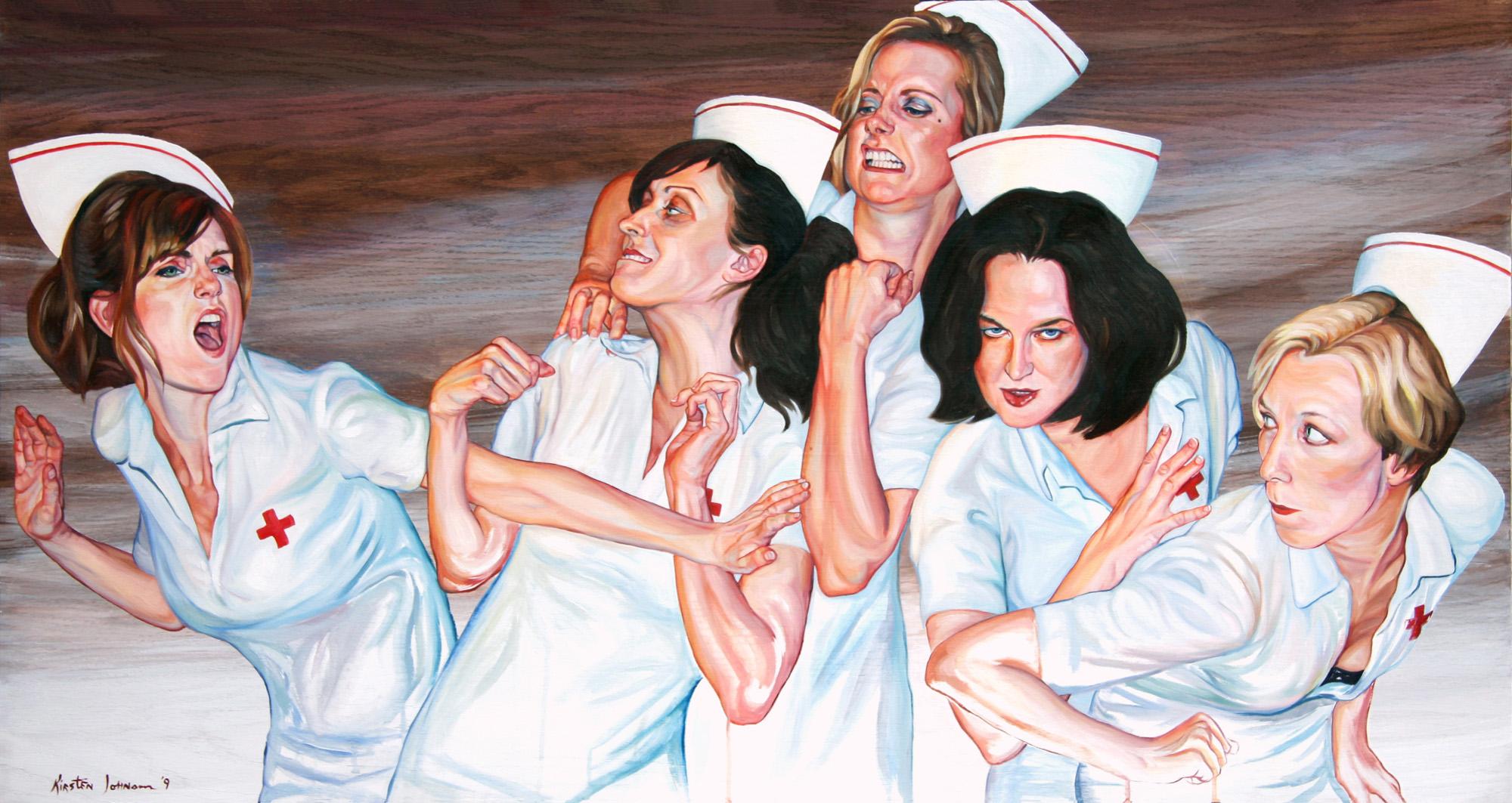 Nurse Fight 1